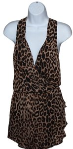 Parker short dress Leopard on Tradesy