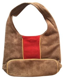Hype Suede Casual Hobo Bag