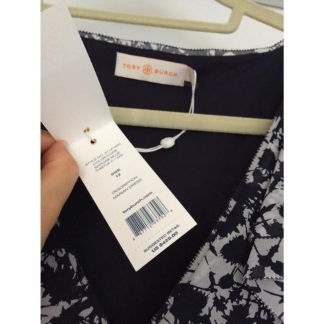 Tory Burch short dress White and blue on Tradesy