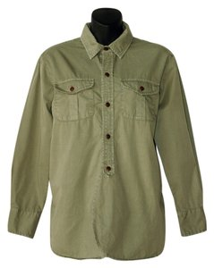 Madewell Button Down Shirt khaki