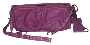 Latico Leather Wristlet in purple