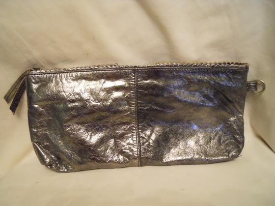 Latico Leather metallic Clutch