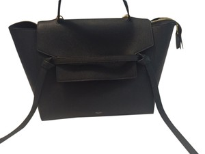 Céline Satchel in Navy Blue