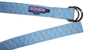 Vineyard Vines 100% COTTON PALM TREE BELT SIZE LARGE