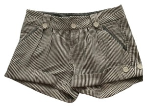 A|X Armani Exchange Mini/Short Shorts Black and white
