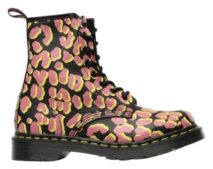 Dr. Martens Leather Punk Multi Boots