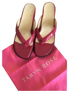 Taryn Rose pink (hot pink) Sandals