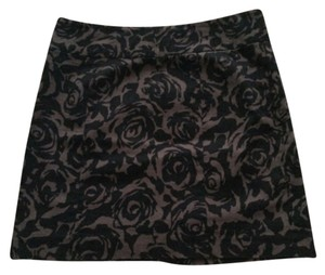 Forever 21 Mini Skirt Black and Grey