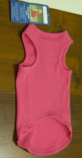 Casual Canine Dog ribbed tank top