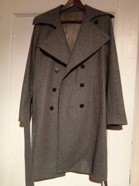 Club Monaco Wool Winter Pea Coat