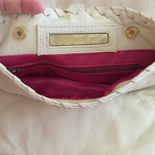 Morgan Barkley Creme Clutch
