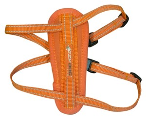 EzyDog EzyDog orange dog harness- Ships next day