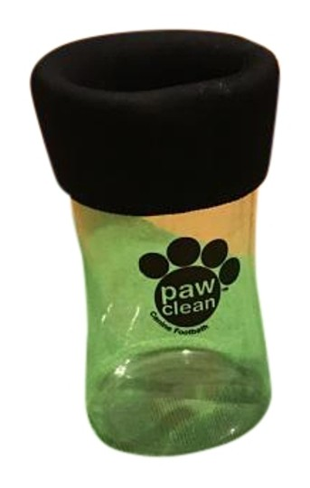 Paw Clean New Paw Clean container plus a green towel