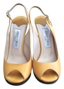 Jimmy Choo Mustard Pumps