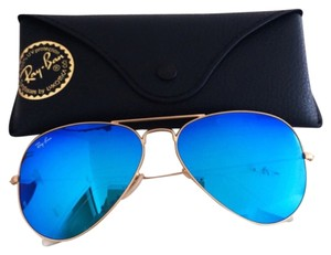 Ray-Ban Blue Mirrored