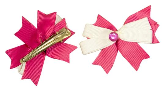 Preload https://item4.tradesy.com/images/pink-and-white-bows-for-little-girls-or-little-doggie-girls-hair-accessory-5478838-0-0.jpg?width=440&height=440