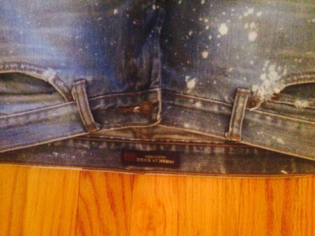 American Eagle Outfitters Flare Leg Jeans-Distressed