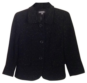 Ann Taylor Black with white speckles Blazer