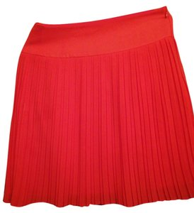Ann Taylor LOFT Skirt coral orange