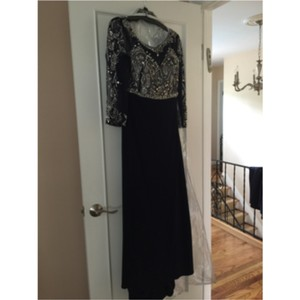 Terani Couture Navy Dress