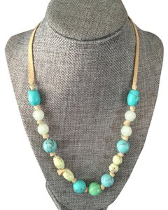 Banana Republic Turquoise and suede