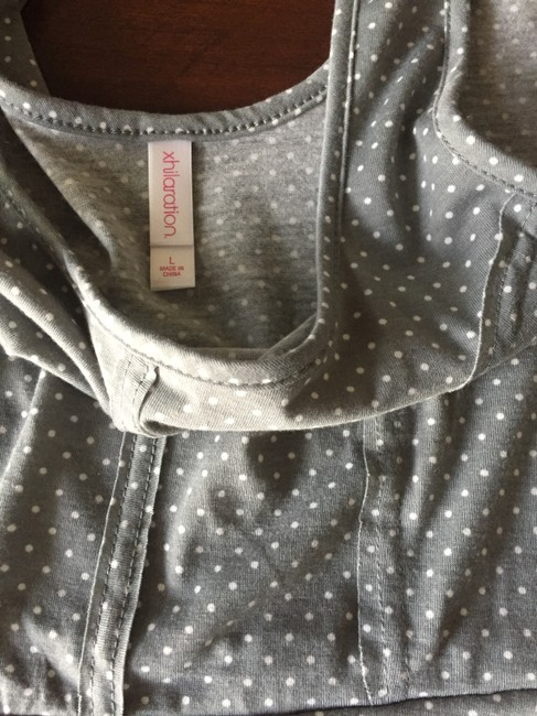 Xhilaration short dress Grey / White Polka Dots Target Brand Name Cheap Never Worn Girls Womens Large 12 Ladies Comfortable on Tradesy
