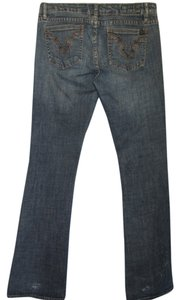 Buffalo David Bitton Boot Cut Jeans-Distressed