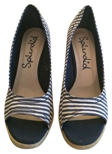 Preload https://item5.tradesy.com/images/splendid-blue-and-white-striped-sandals-wedges-size-us-6-548049-0-0.jpg?width=440&height=440