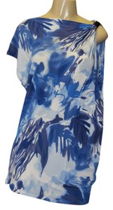 Kenneth Cole short dress BLUE MULTI on Tradesy