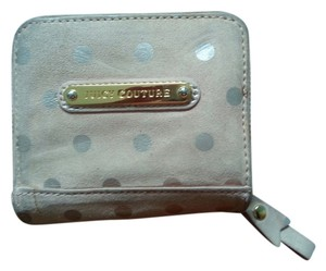 Juicy Couture Juicy Couture Polka Dot Suede Wallet