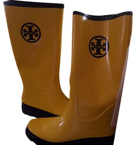 Tory Burch yellow Boots