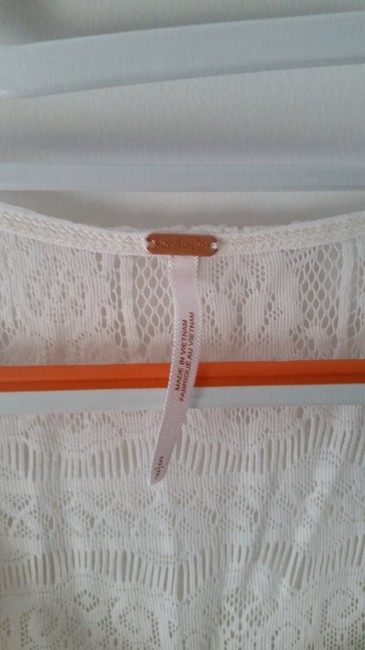 Free People short dress Off White Lace on Tradesy