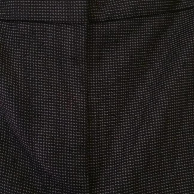 Ann Taylor Trouser Pants Black and grey herringbone