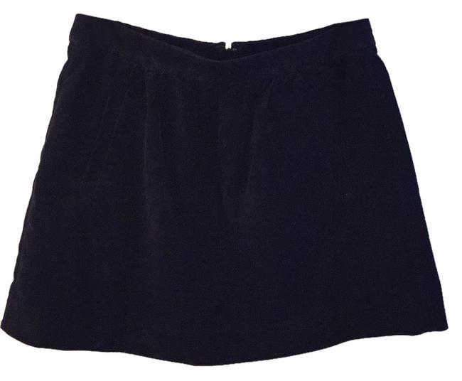 J.Crew Mini Skirt Navy Blue