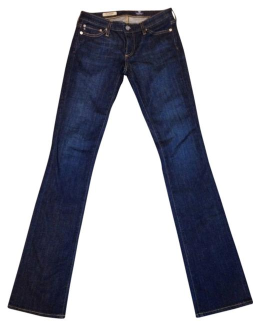 Preload https://img-static.tradesy.com/item/548197/ag-adriano-goldschmied-blue-dark-rinse-the-ballad-boot-cut-jeans-size-25-2-xs-0-0-650-650.jpg
