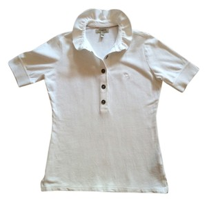 Burberry Polo London T Shirt White