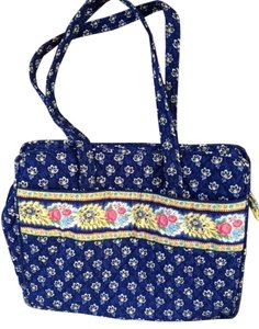 Vera Bradley Blue Pattern Diaper Bag