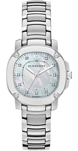 Burberry Nwt burberry Diamond Women's swiss the Britain 34mm MOP dial bby1804 watch with Diamond Certificate Card