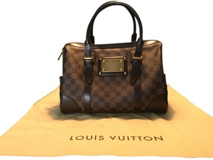 f41b4f4cd716 Louis Vuitton Berkeley Damier (Model N52000) - No Longer Sold In Stores  Brown Canvas Ebene Tote