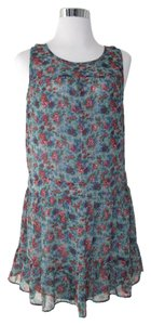 Pins and Needles short dress Multicolored on Tradesy