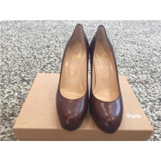 Christian Louboutin Leather brown Pumps