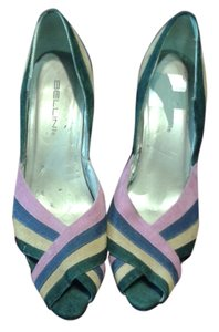Bellini patchwork Pumps