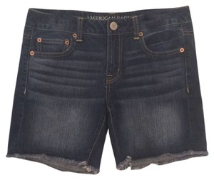 American Eagle Outfitters Cut Off Shorts Dark Blue