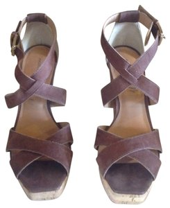 Madison Harding Jackson Brown Platforms