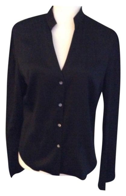 Preload https://item4.tradesy.com/images/kenneth-cole-black-blouse-size-10-m-5482903-0-0.jpg?width=400&height=650