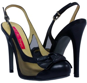 MS Shoe Designs Black Pumps