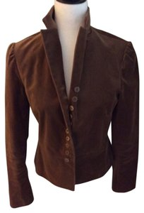 Gap Velvet Brown Blazer