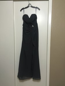 Mori Lee Charcoal Charcoal By Madeline Gardner Dress Dress