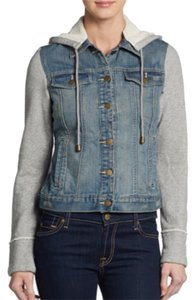 Saks Fifth Avenue Womens Jean Jacket