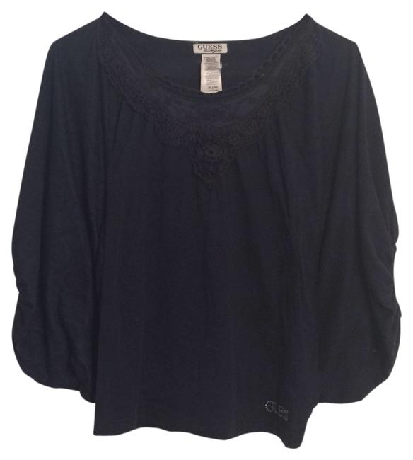 Preload https://item4.tradesy.com/images/guess-top-blue-5483623-0-0.jpg?width=400&height=650